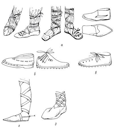 Как сшить средневековые ботинки 78